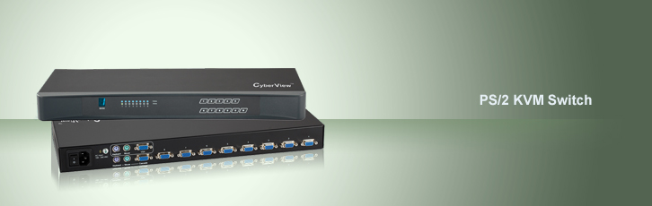 cv-s801 - cyberview 8-port usb kvm   8 cables