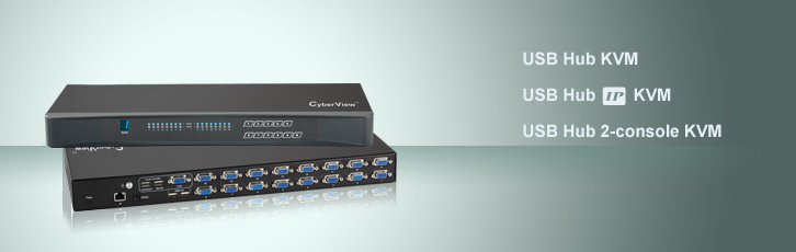 CyberView USB Hub KVM Series