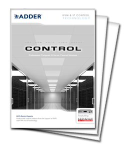 Adder Infinity AVX5016IPC Manual Screenshot