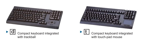 Rackmount LCD Keyboard Options