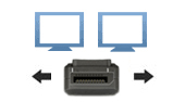 DisplayPort Dual Display KVM Extenders
