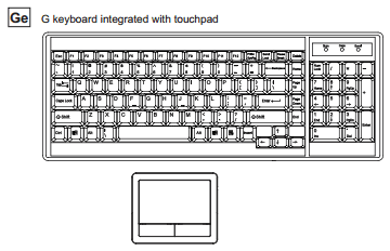 Raloy RD117 Keyboard Illustration