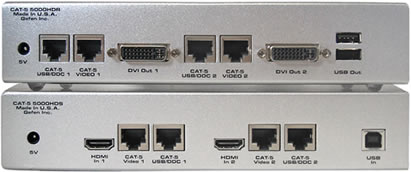 Gefen EXT-CAT5-5000HD Backside