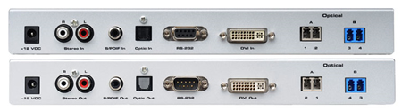 Gefen EXT-DVI-1600HD Back Views
