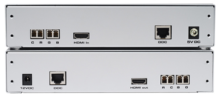 Gefen EXT-HD-1000 Extender System Back View