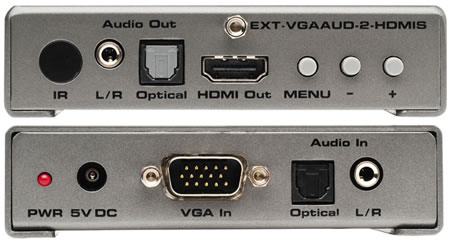 Gefen EXT-VGAAUD-2-HDMIS Backview