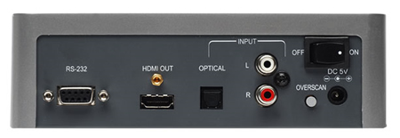 Gefen TV 1080p HDMI Signal Generator Back View