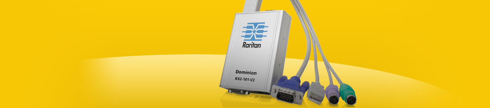 Raritan Dominion DKX2-101-V2 IP KVM Gateway - 1080P VGA - 256-bit AES/FIPS 140-2 Encryption