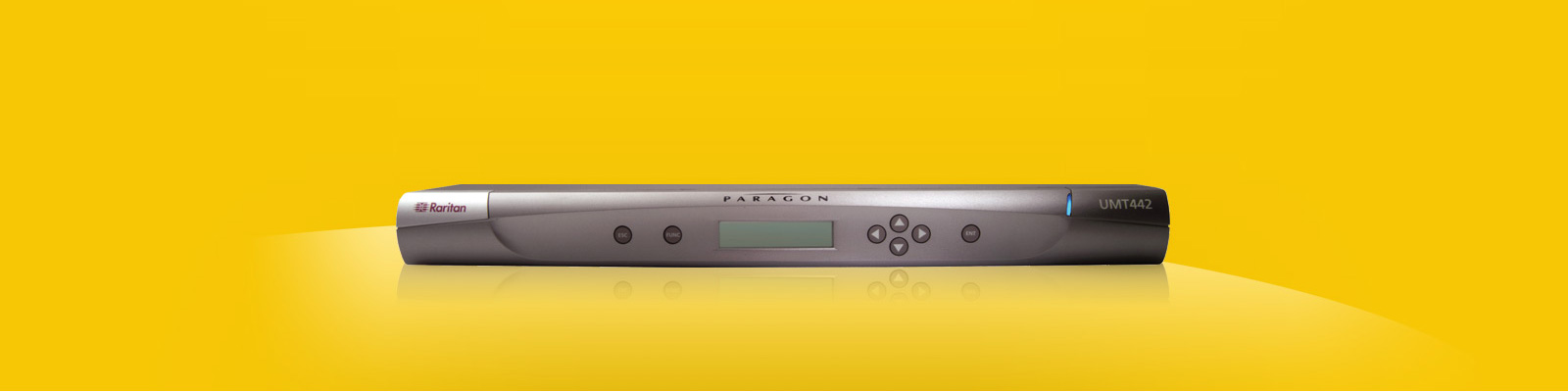 Raritan Paragon 64 Port 16 User High Density CATx KVM Switch - Multi-Platform: PS/2, USB, Sun and SGI