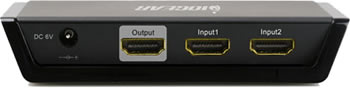 IOGEAR GHDMIAS2 HDMI Switch Backside