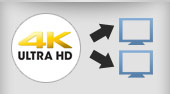 4K Audio Video Splitters