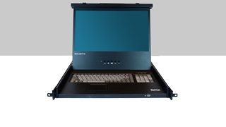 Raritan MasterConsole Digital Rack LCD Console + KVM Switch