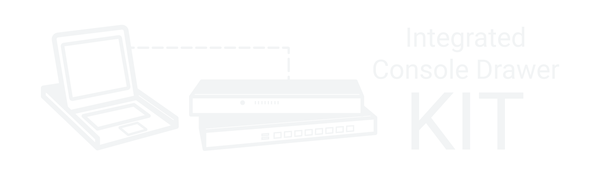 Rackmount Drawer with Integrated KVM