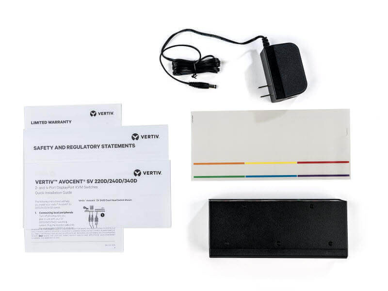 Avocent Vertiv SV220D What's Included? Package contents