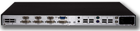 Thinklogical Velocitykvm-24 Receiver Backview
