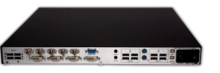 Thinklogical Velocitykvm-34 Receiver Backview