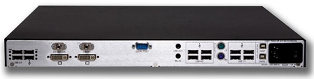 Thinklogical Velocitykvm-4 Receiver Backview