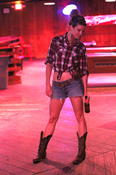 Style Your Cowboy With Denim Cut Offs