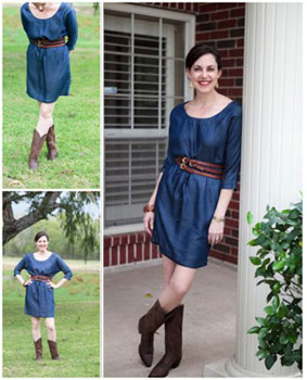 Wear Cowboy Boots with your Favorite Dress