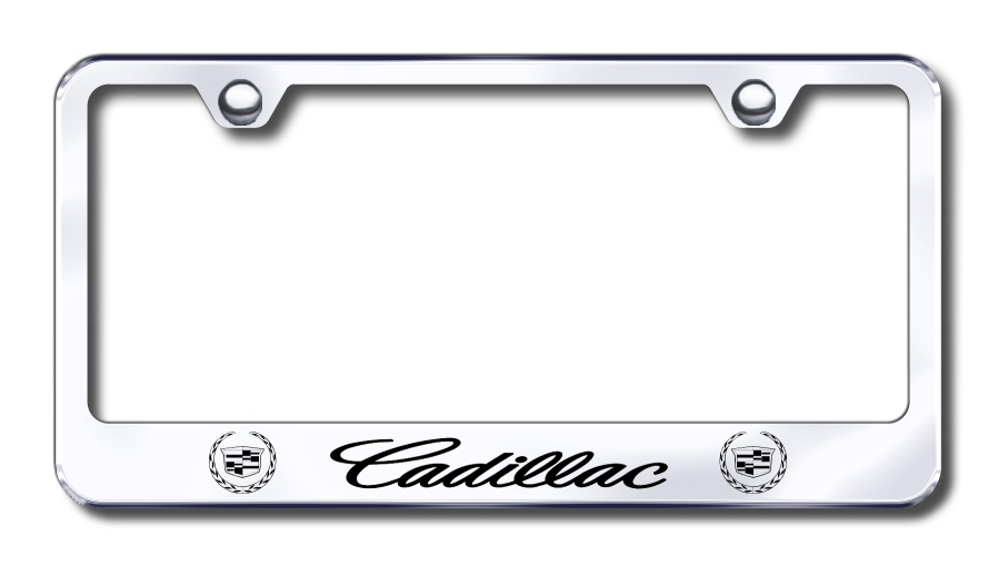 factory font etched license frames all vehicles license plate frames