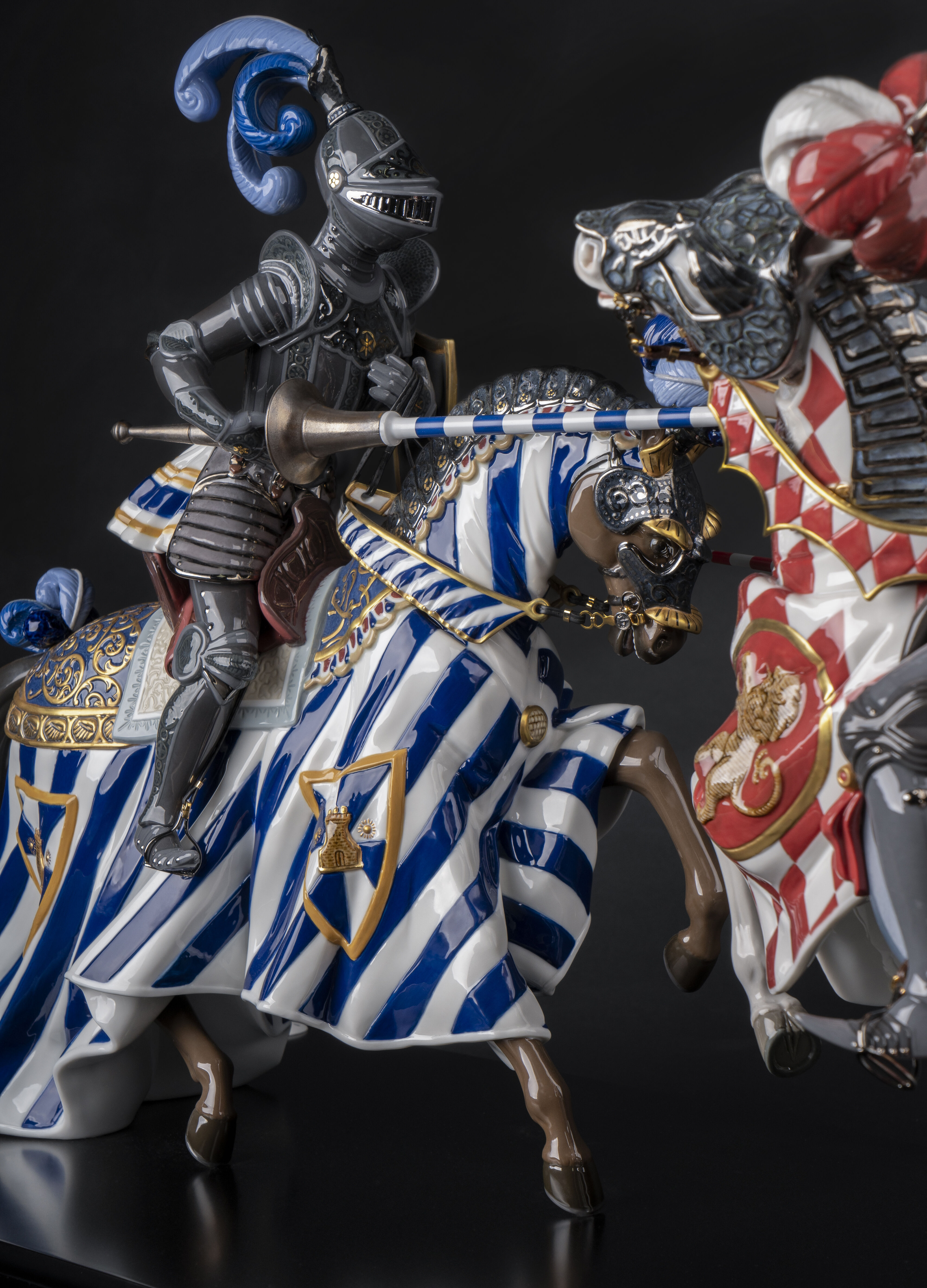 Lladro Medieval Tournament
