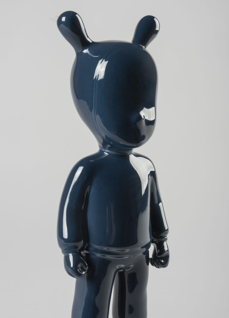 Lladro The Dark Blue Guest Small Model