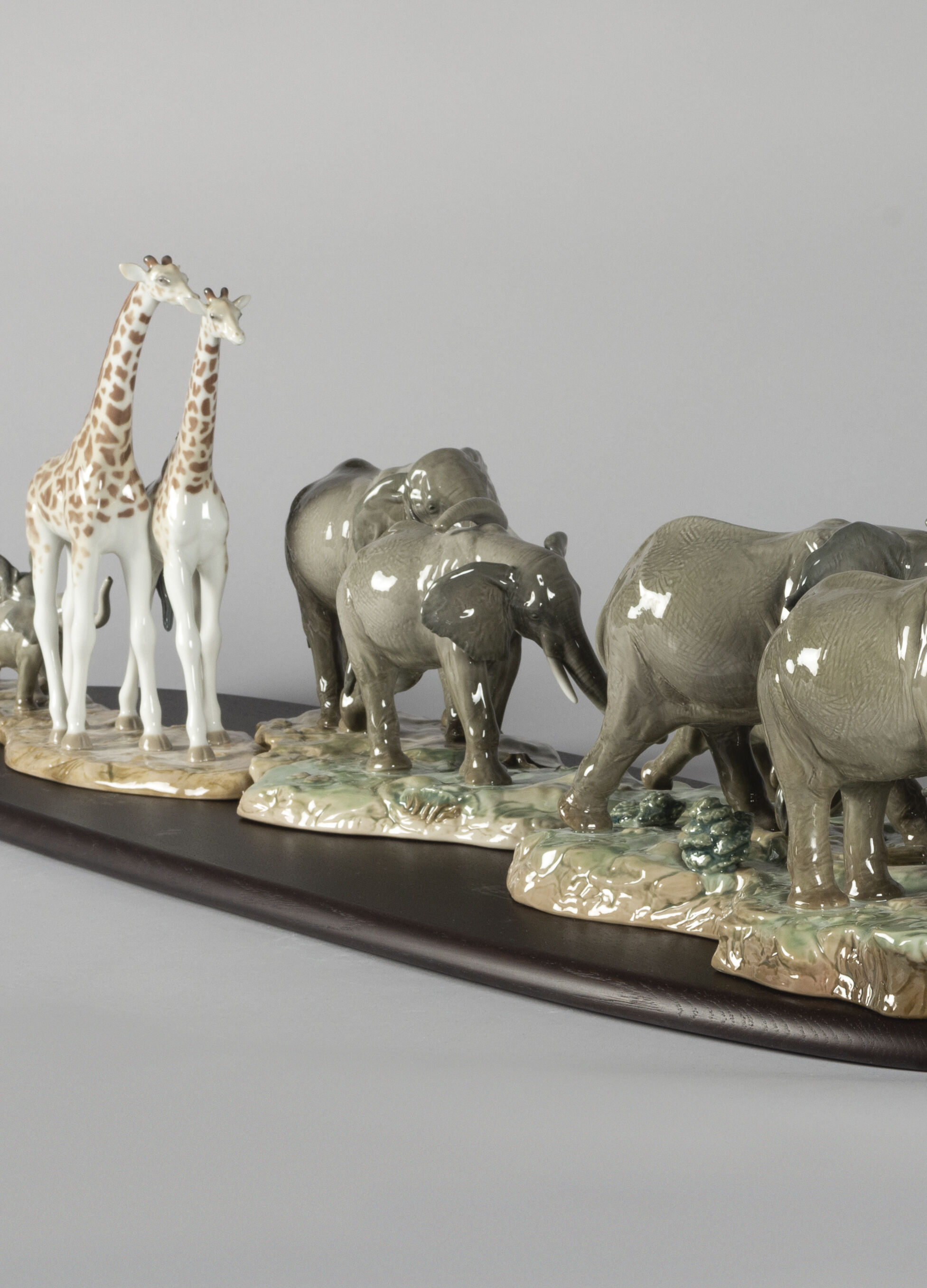 Lladro African Savannah Wild Animals