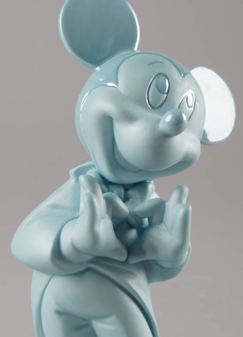 Lladro Mickey Mouse Blue