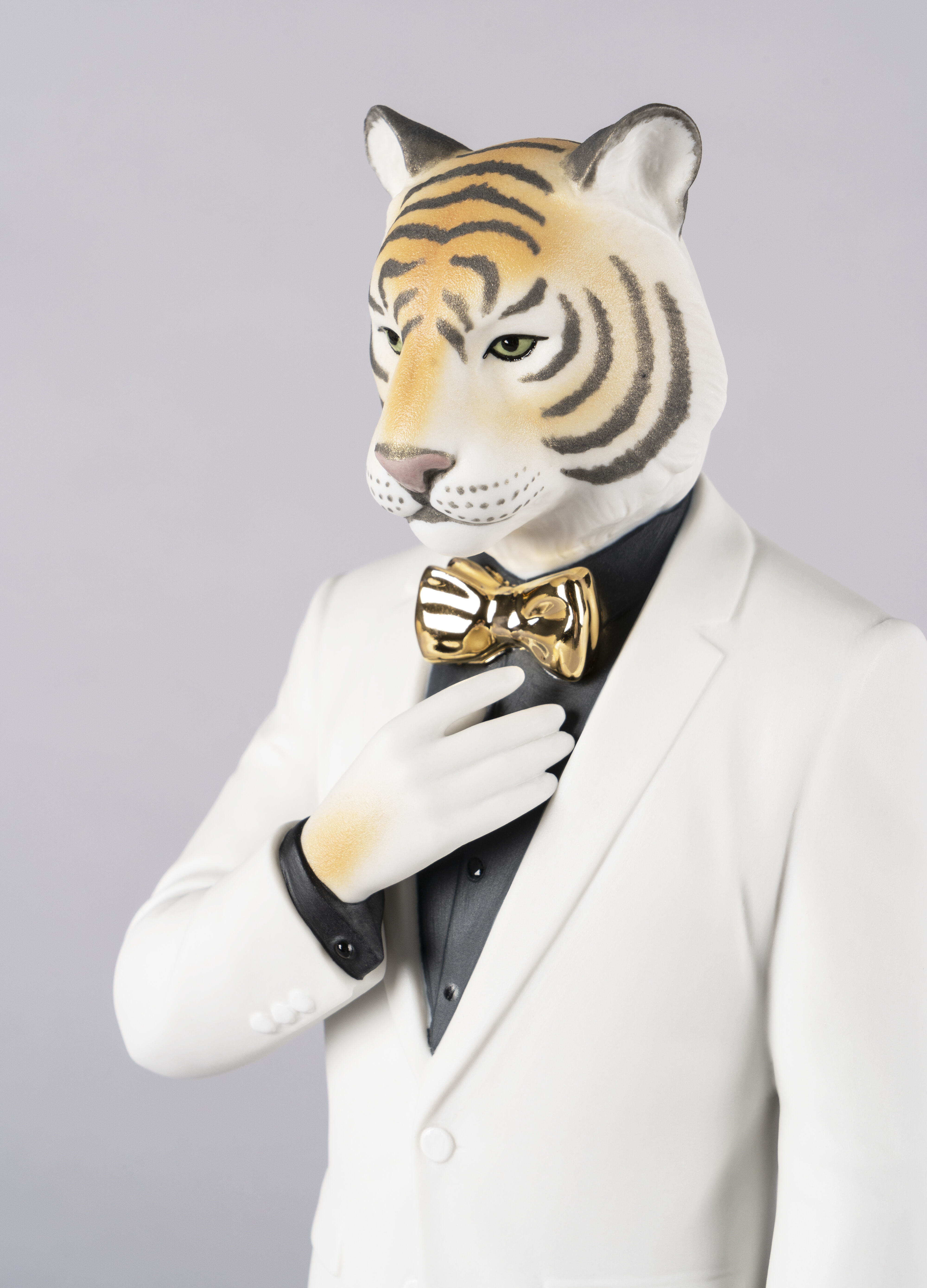 Lladro Tiger Man