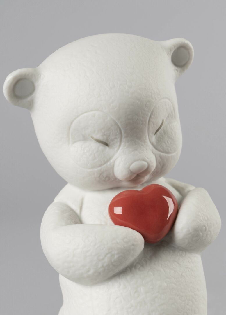 Lladro Roby-Corageous Bear