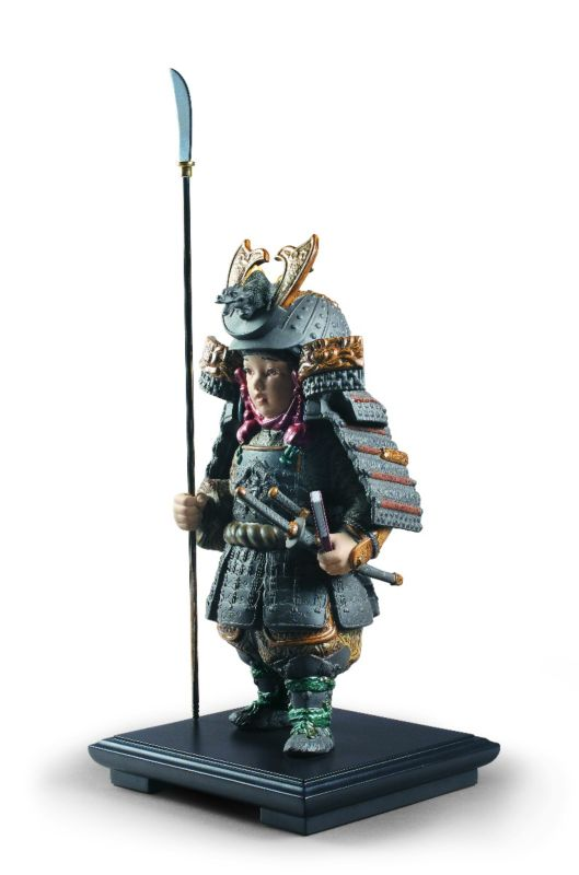 Lladro Warrior Boy