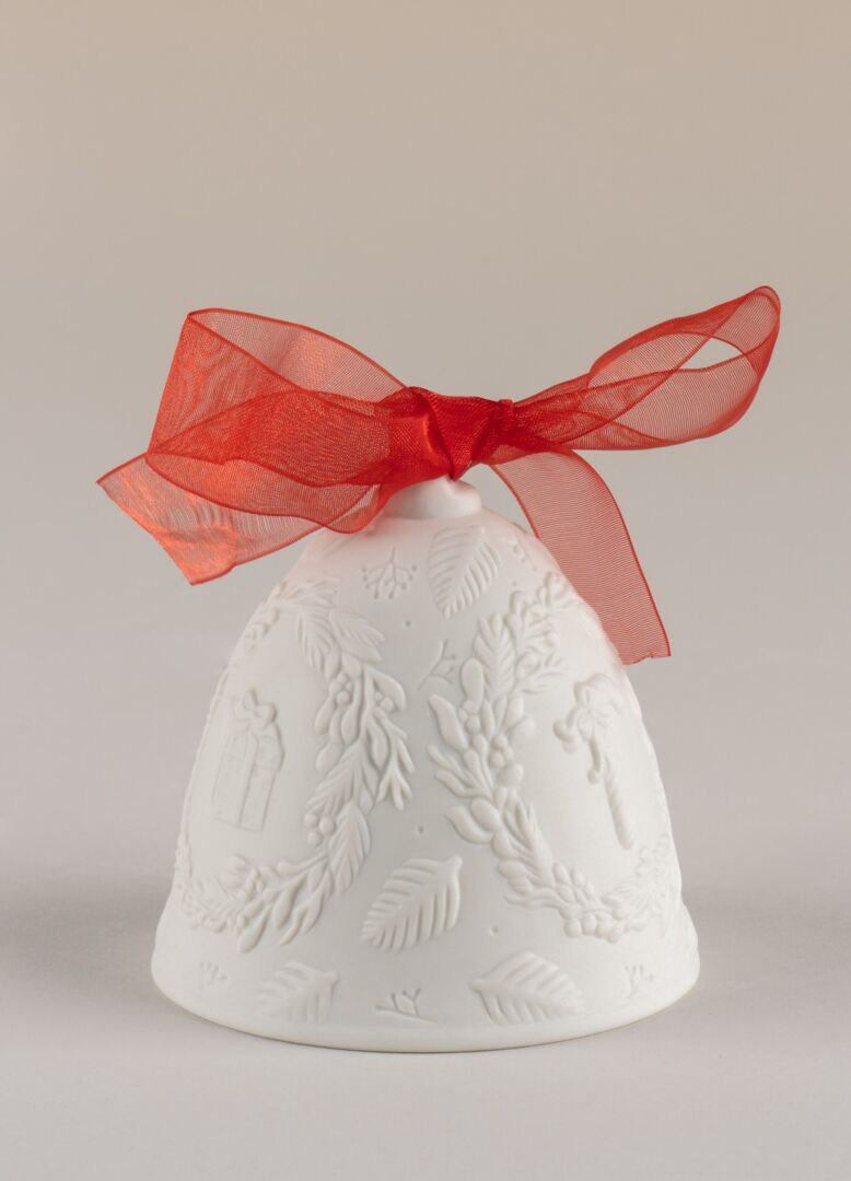 Lladro 2021 Christmas bell Red