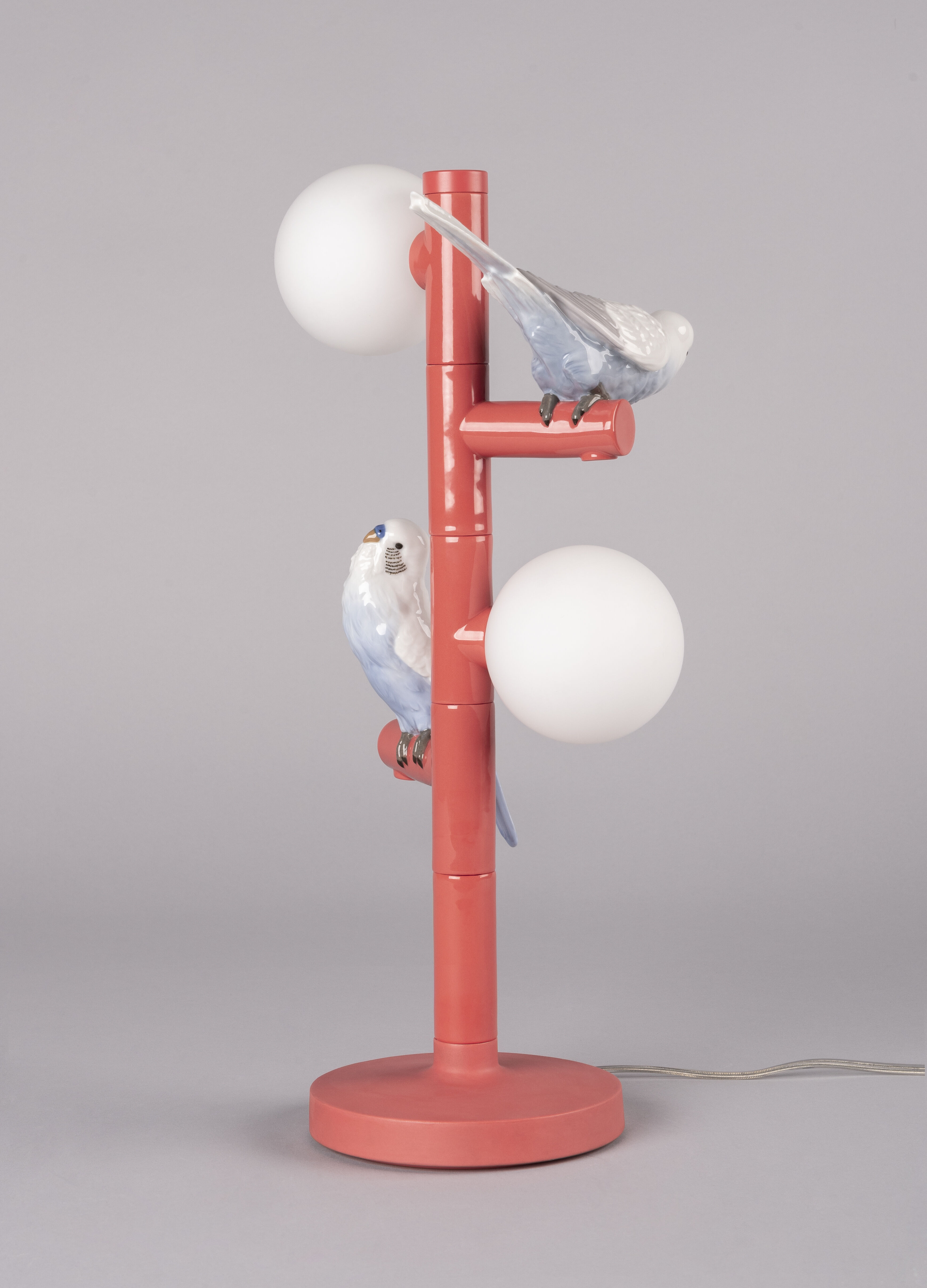 Lladro Parrot Table Lamp. (CE)