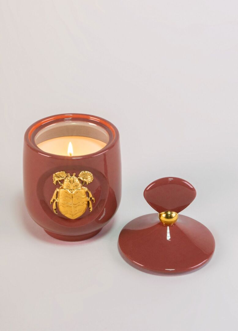 Lladro Scarab candle Luxurious animals. Moonlight Scent