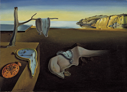 Recognizable And Individual Pieces In Art History Depicting A Dismal Shoreline Draped With Melting Clocks It Is Thought That Albert Einsteins Theory