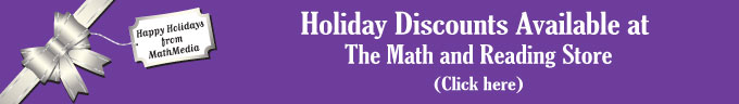 Holiday Discounts at The Math and Reading Store