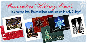 Personalized Business Holiday Cards & Personalized Business Christmas Cards