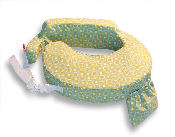 Nursing Pillow Green Sunburst