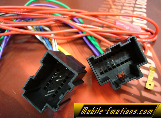 GWH 406 chevy impala 07 2007 car radio wire harness for wiring new stereo 2007 chevy impala wiring harness color code at crackthecode.co