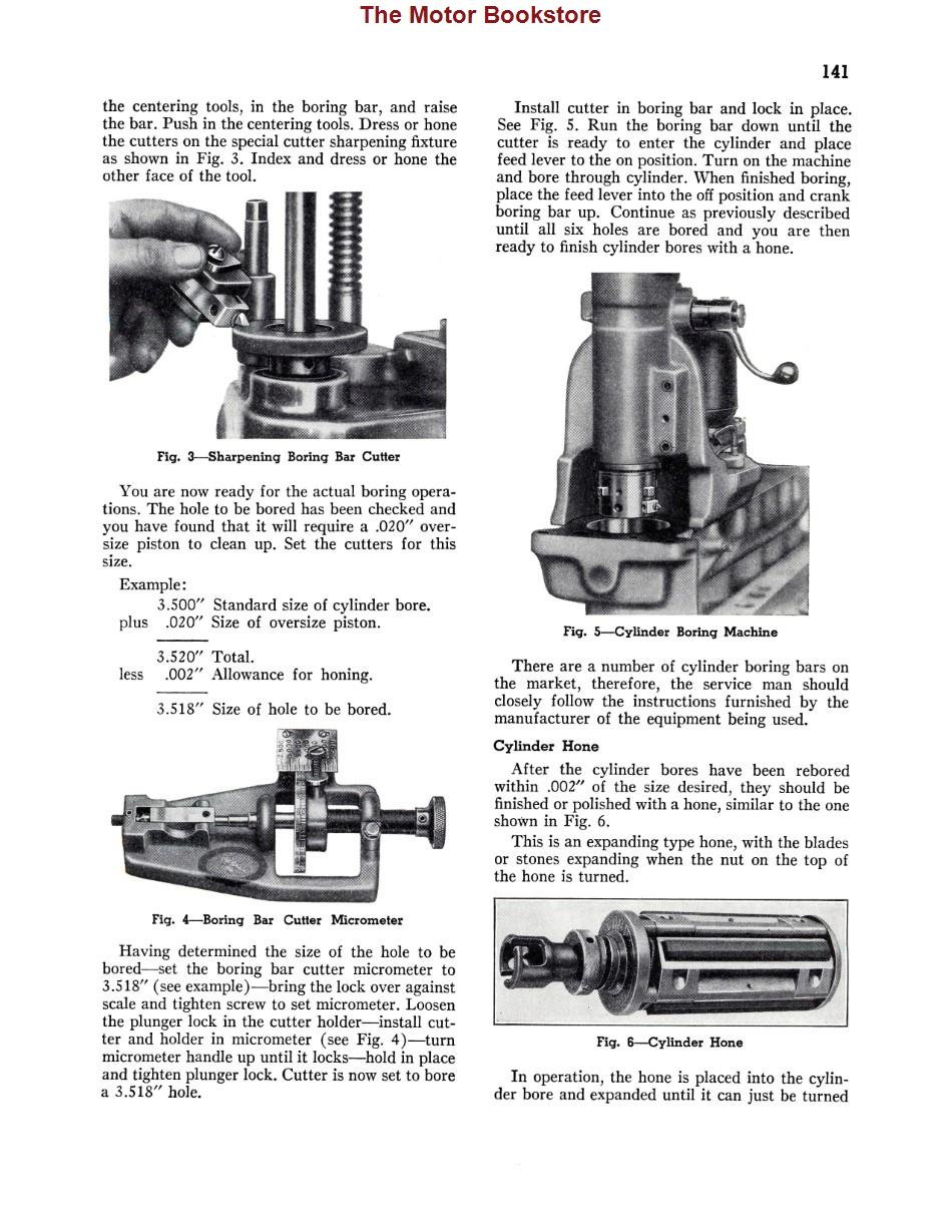 1939 Chevrolet Car & Truck Shop Manual Sample Page - Cylinder