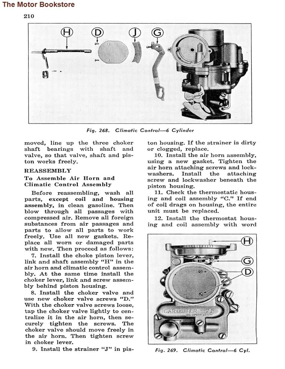 1946 -1948  Pontiac Shop Manual Supplement Sample Page - Climatic Control