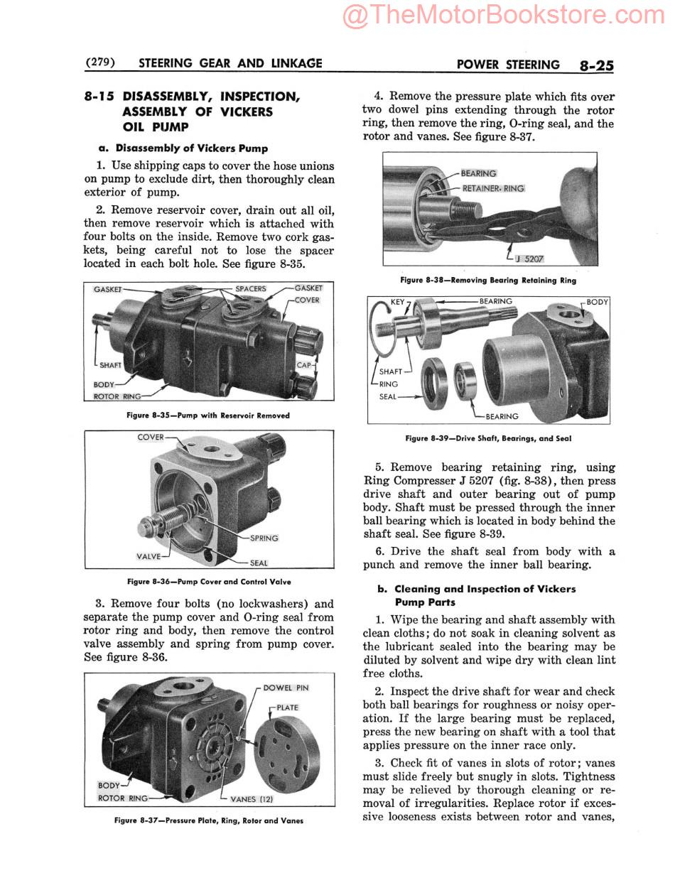 1964 Buick  Shop Manual  Sample Page - Power Steering