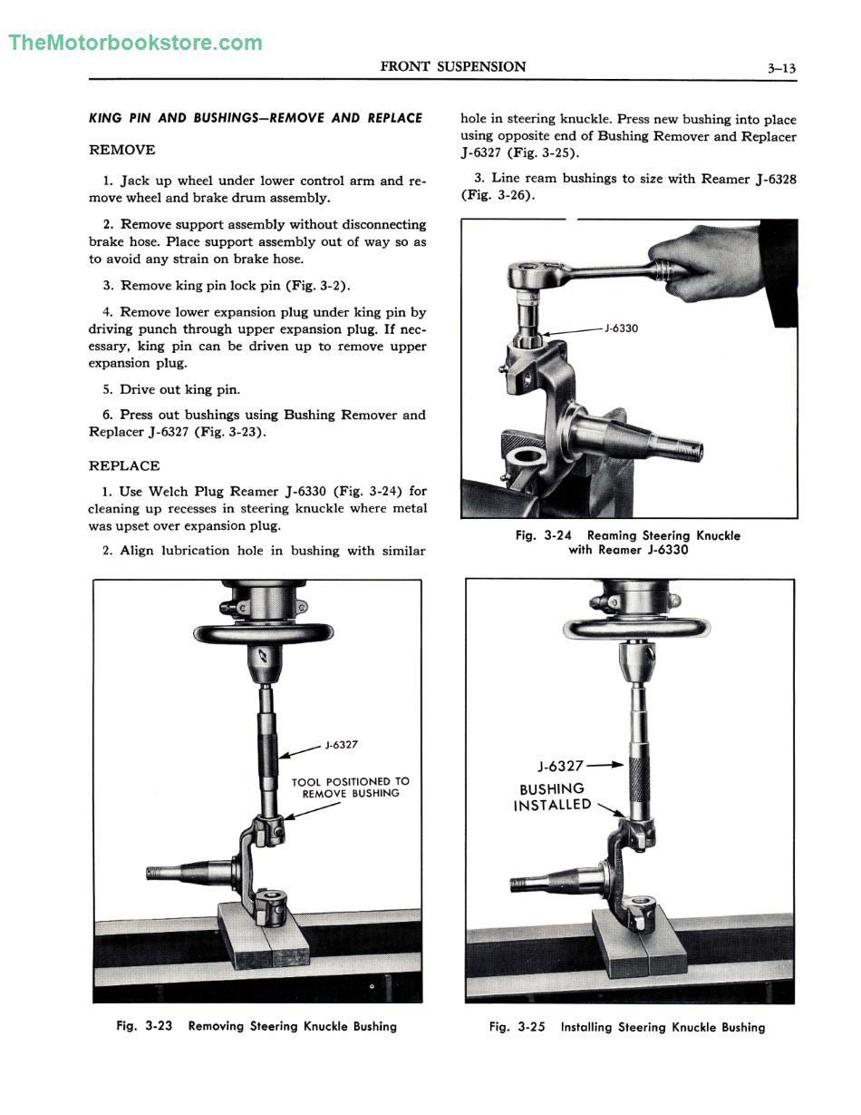 Front Suspension Manual Guide