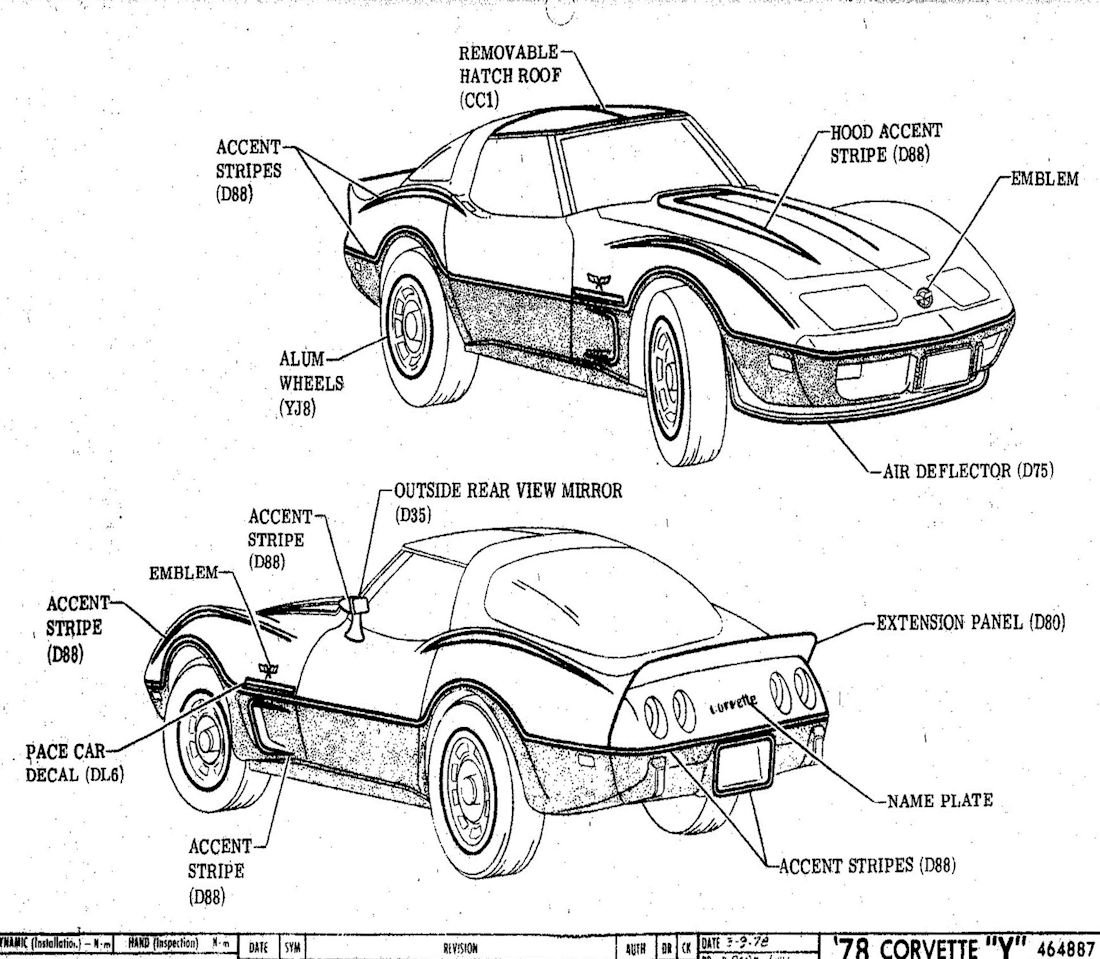 1978 Corvette Factory Assembly Manual-Front End Body Checking Sample Page