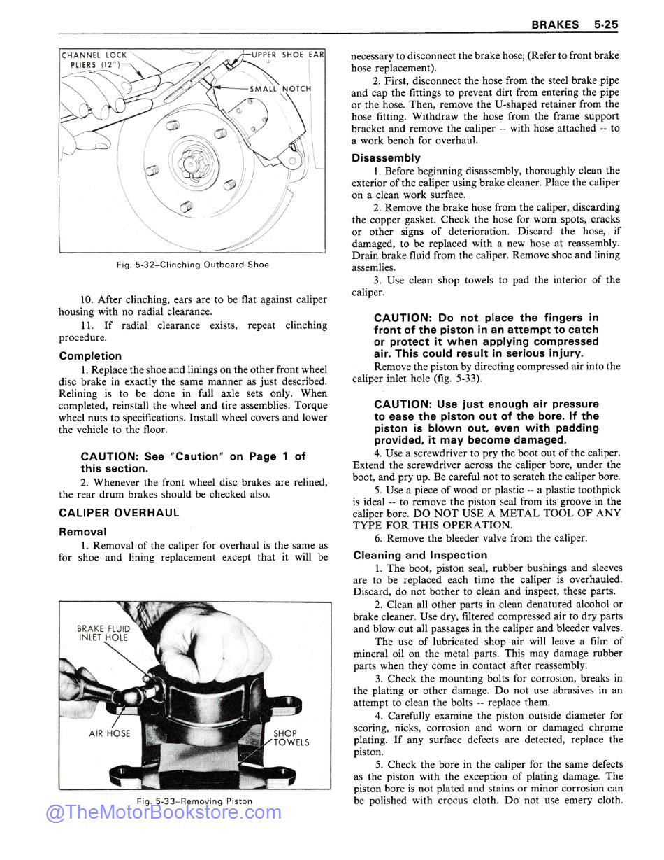 1979 Chevrolet Service Manual Sample Page 1 - Automatic Transmissions
