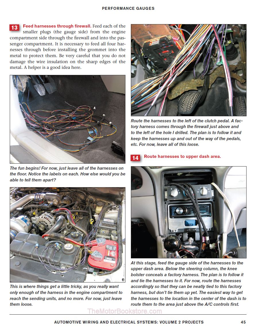 Automotive Wiring & Electrical Systems- Performance Gauges
