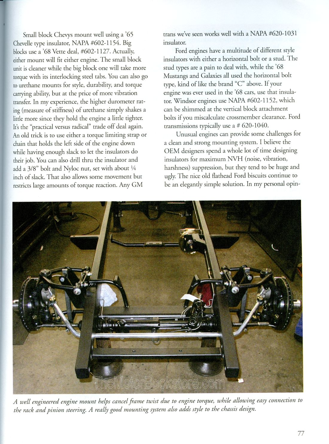 Building Hot Rods - Engine Mount Sample Page - WP343