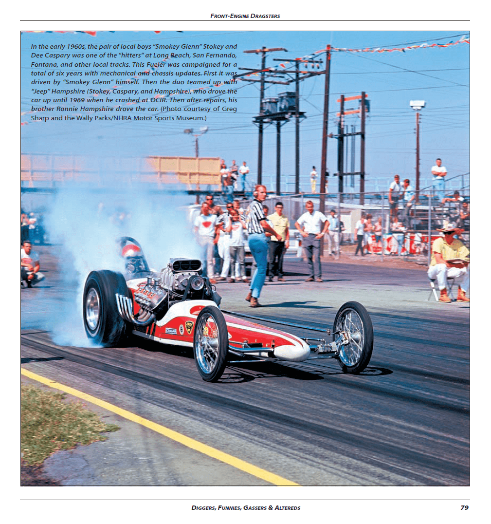 Diggers, Funnies, Gassers, & Altereds: Drag Racing's Golden Age - Sample Page - CT521