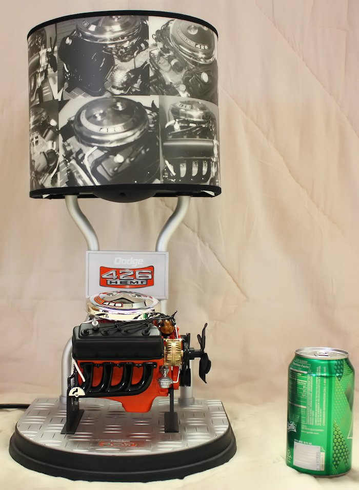 Dodge Hemi 426 Engine Table Lamp
