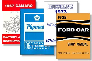 Factory manual covers.